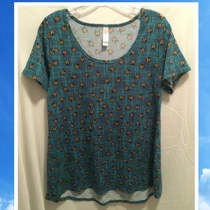 Size Medium LuLaRoe Ladybugs Shirt
